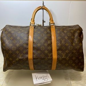 Keepall 55 Monogram No strap
